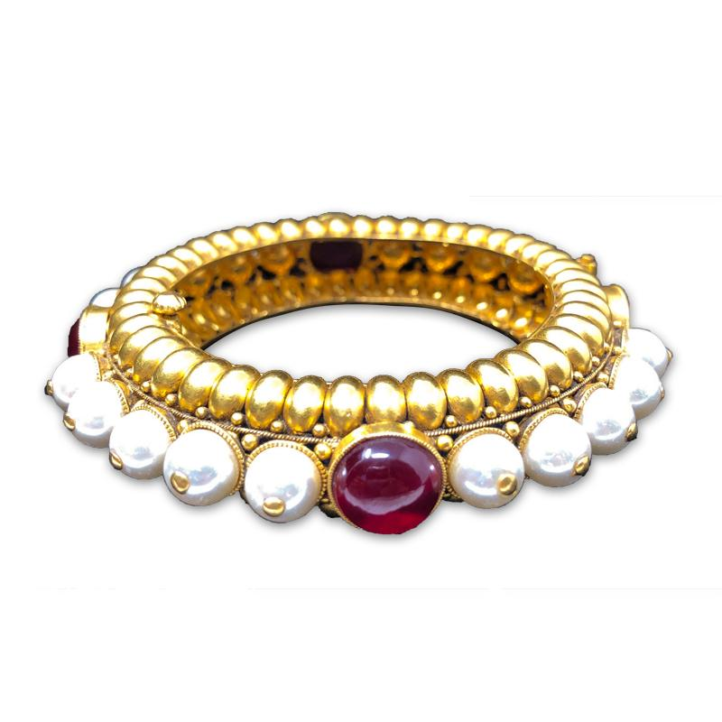 INDIAN PEARL GOLD JEWELLERY